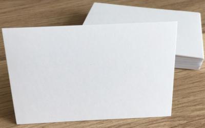 plain white paper