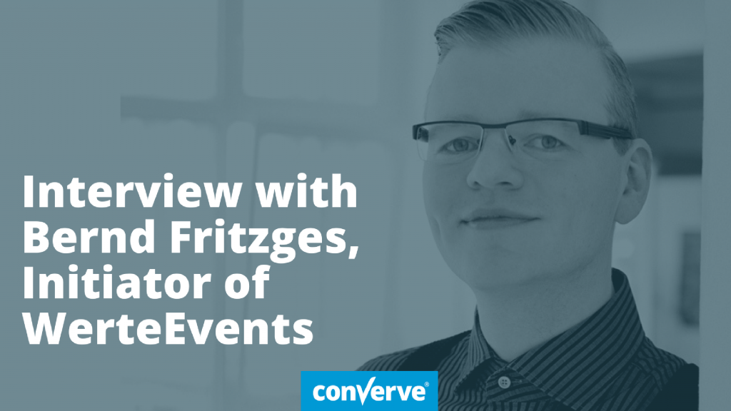 Interview with Bernd Fritzges, initiator of the ValuesEvent, about values, ethics, morals and the event industry