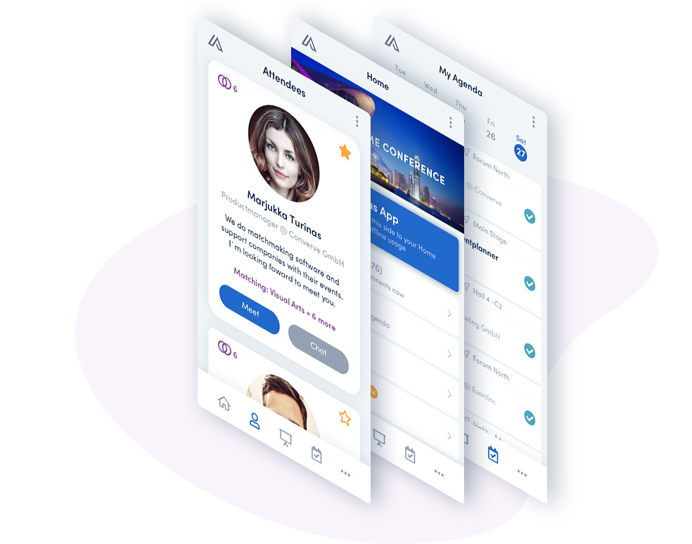 mobile event app von Converve